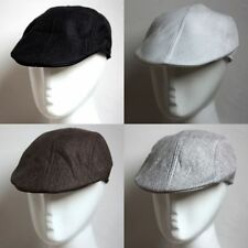 Solid Colors Casual Newsboy Beret Cabbie Gatsby Visor Golf Hat Cap Tops One Size
