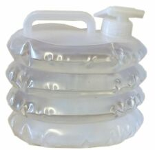 3 Litre Collapsible Water Carrier Container - For Picnics Camping Fishing Etc