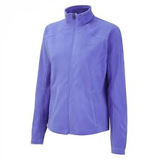 Craghoppers Ladies Miska Fleece Full Zip Jacket Blue Violet Warm & Lightweight