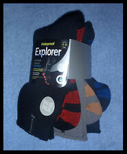 3 x Pairs Mens EXTREME IMPACT Cotton Blend Holeproof EXPLORER BNWTs