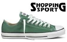 Scarpe Converse AllStar 2013 Tela Canvas Verdi Green Forest Basse Low