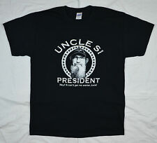 Uncle Si for President T-Shirt Hey Jack Dynasty Duck Commander BLACK S - 4X