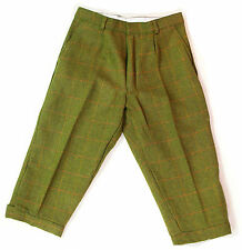 """Mens Derby Tweed Breeks Plus Fours Breeches Country Wear 2 Cols Trousers 30-46"""""""