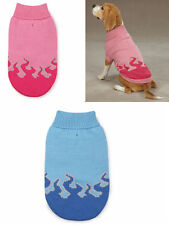 Sizzling flames dog Sweater pet apparel clothing ALL Sizes / pink or blue color