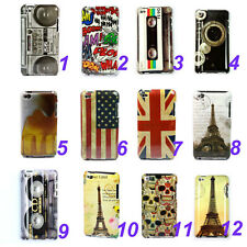 Various Pattern Hard Skin Case Cover For Apple iPod Touch 4 4G 4TH Gen