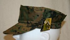 ROTHCO MARINE STYLE DIGITAL WOODLAND CAMO 8-POINT UTILITY COVER CADET HAT CAP