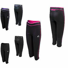 More Mile Womens More-Tech 3/4 Running Tights Size 6
