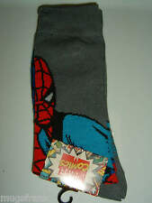 Spiderman Marvel Comics Crew Socks Nwt