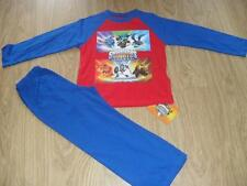 BNWT Skylanders Giants boys red and blue long pyjamas nightwear sleepwear