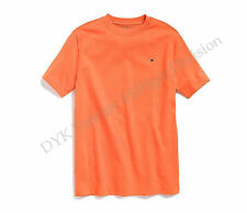 Tommy Hilfiger Children Big Boy Nantucket Tee T-Shirt Orange - Free $0 Shipping