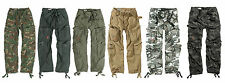 COMBAT TROUSERS SURPLUS TEX  AIRBORNE ARMY MULTI POCKETS CARGO WORK MILITARY
