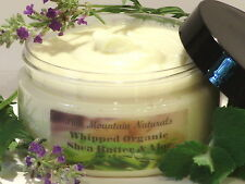 Whipped Organic Shea Butter & Aloe Moisturizer w/ Your Choice of Essential Oils