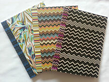 Missoni for Target Chevron and Blue Floral Composition Note Books - Brand NEW