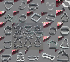 30 Styles Metal Buscuit/Cookie/Cake/Jelly Metal Cutter Tin Mold Mold Baking Tool
