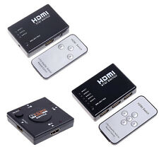 5 port / 3 Port 1080P HDMI Switch Switcher Video Splitter For HDTV DVD NEW EN6J