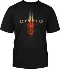 Diablo III 3 Face Gamer New Blizzard Officially Licensed Adult T-Shirt S-4XL