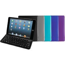 Aluminum Bluetooth Keyboard Case & Stand for Apple iPad Mini - 5 Colors - NEW