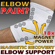 Magnetic Recovery Elbow Joint Support Brace Golf Tennis Arthritis Tendonitis