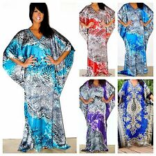 Taj Mahal Printed Boho Maxi Caftan Kaftan Dress or Cover Up S M L XL 1X 2X 3X!