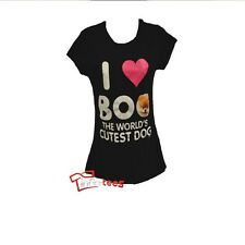 Boo The Dog T-shirt World's Cutest Women's Junior Officially Licensed S-XL