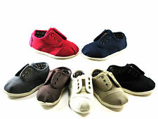 New Oxford Velcro Style Baby Toddler Boys Girls Canvas Shoes Size 4 5 6 7 8 9 10