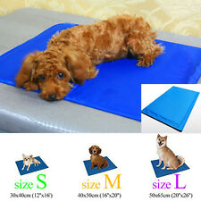 New Cool Dog Canine Pet Bed Cooler Mat Pad