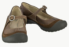 KEEN 53041 WOMENS NEW MARY JANE LEATHER ADJUSTABLE STRAP SHOES US W'S 7