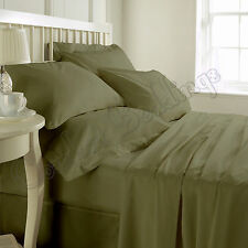 Extra Thread Count Hotel Moss Brand New Bedding Set 100%Egyptian Cotton