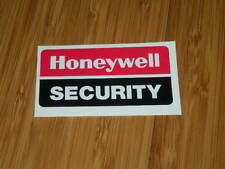 Honeywell Security stickers home business safety