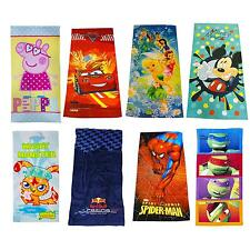 Kids Disney and Character Towels - Childrens Large Beach Bath Towels - New