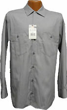 Dickies  Long Sleeve  Graphite Gray Two Pocket  SP14GG   Industrial  Work Shirt