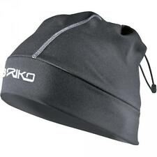 Briko hat and neck warmer unisex adjustable opening GAITOR black 012911