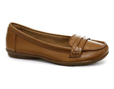 Hush Puppies Tan Ceil Penny Womens Loafer Shoes ALL SIZES