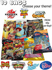 PARTY BAGS FILLERS CHOOSE YOUR THEME •POWER RANGERS • TOY STORY 3• ZHUZHU PETS