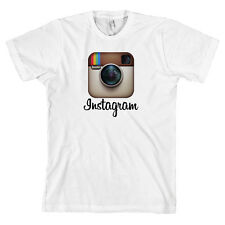 Instagram Logo AMERICAN APPAREL T Shirt Tee *ALL SIZES & NEW*