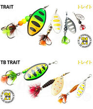 Pontoon21 Trait Spinners (Perch, Pike, Trout, Salmon) with Owner ST-36BC