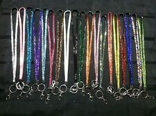 Rhinestone Lanyard BLING Crystal NECK Camera KEY RING Cell Phone DECORATIVE Cute