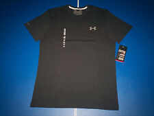 Under Armour Men's UA Charged Cotton Short Sleeve T-Shirt Black 1217194 NWT