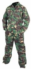 Camouflage Camo Combat Overalls Woodland Green Coveralls Paint Balling S to 2XL