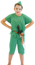 PETER PAN Fancy Dress Costume  ALL AGES LARGE SIZES