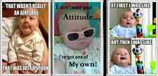 FRIDGE MAGNET Fun cute Baby pictures with funny slogans nice unusual gifts