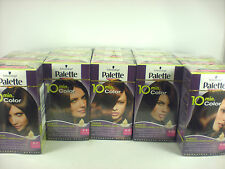 3 x SCHWARZKOPF palette 10 min hair dye permanemt brown colour choose shade