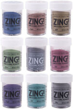 American Crafts Zing Embossing Powder Metallic Finish Choose Your Color