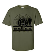 MAN FROM U.N.C.L.E uncle Inspired T-Shirt Various Colours Available