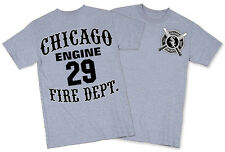 CHICAGO FIRE DEPT ENGINE 29 T-SHIRT CHICAGO FIREFIGHTER TEE