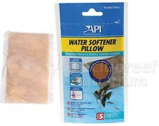Water Softener Pillow Lowers Hardness in Aquarium API Size 5 Pouch Treats 20 gal