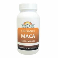 MACA ROOT POWDER Capsules 500mg Each 100% PURE ORGANIC/Kosher with Free Shipping
