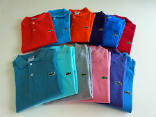 Mens Lacoste Polo Shirt Sz XS, SM, MED, LRG, XL, XXL, 3XL (Sz 3-9) Authentic NWT