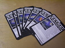 CLUEDO GAME SPARES SUSPECT, WEAPON & CHARACTER CARDS - ALL VARIATIONS 99P EACH.