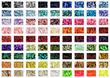 Satin Ribbon Berisfords 25mm Choice of  60 colours  Cut to Order